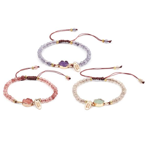4MM Beauty Beads Natural Stone Bracelet
