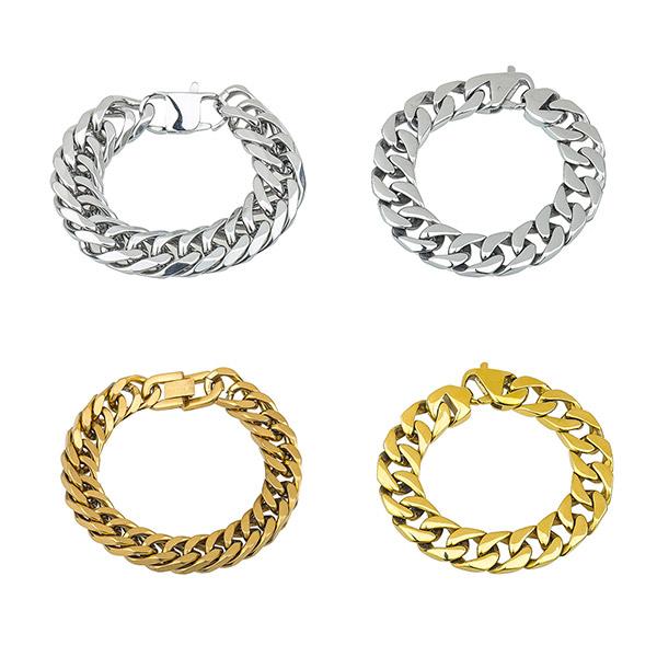 Cuban Link Stainless Steel Bracelet