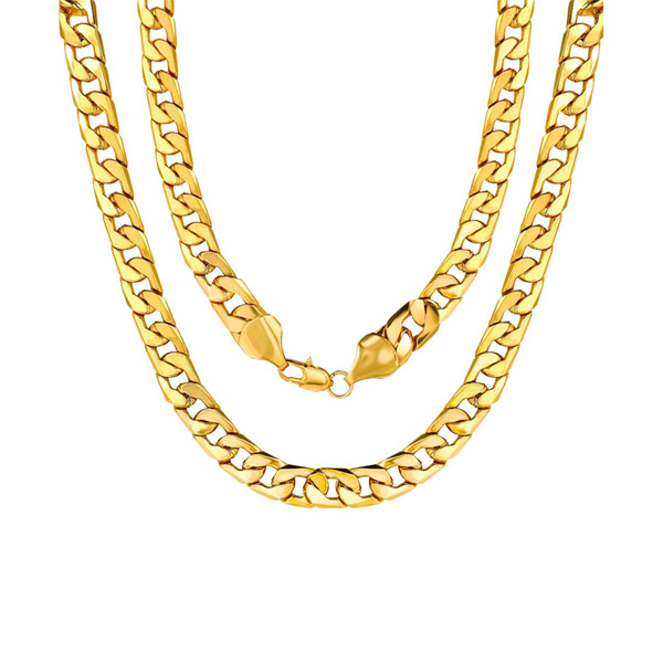 Cuban Link Stainless Steel Necklace