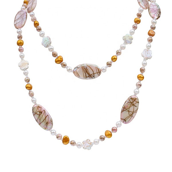 Freshwater Cultured Chunky Pearl Necklace Jewelry