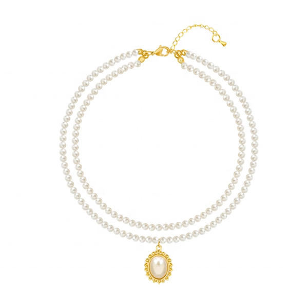 Freshwater Pearl Bead Necklace