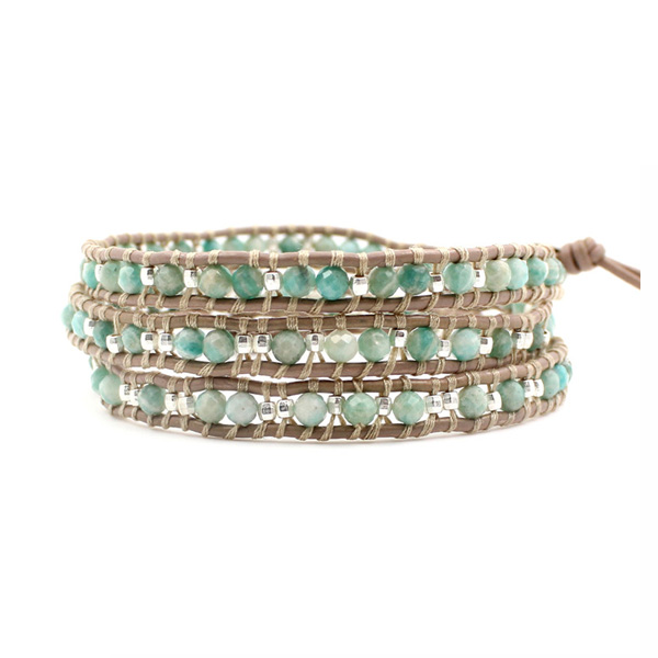 Handmade Boho Bracelet Women Leather Bracelet