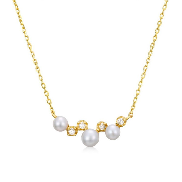 Natural-Freshwater Pearl Necklace